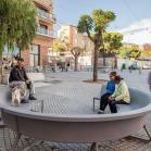 concret bench design escofet